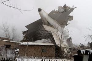 In pics: Turkish cargo plane crashes into residential buildings in...