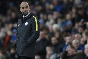 Title is beyond Manchester City after Everton loss, says Pep Guardiola