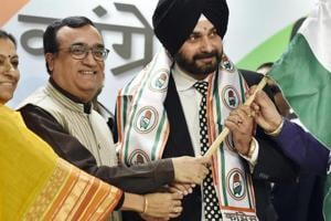 Cricketer-turned-politician Navjot Singh Sidhu declared himself a...