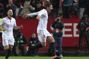 Real Madrid C.F. La Liga record run ends as Sevilla strike with late...