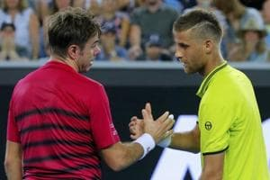 Stan Wawrinka survives scare from Martin Klizan to reach Australian...