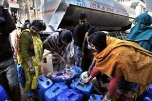 Water crisis continues even as production starts at shut treatment...
