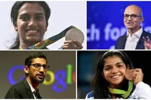 Padma awards list 2017 features Olympians Sakshi, Sindhu, global CEOs...