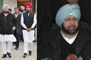 Captain Amarinder Singh said that he will defeat Parkash Singh Badal,...