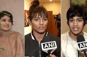 Wrestling sisters Geeta and Babita Phogat came out in support of Zaira...