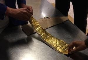 Flier held at Delhi airport for smuggling gold foil worth Rs 18 lakh