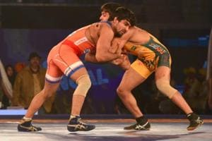 Haryana Hammers beat Jaipur Ninjas to enter Pro Wrestling League final