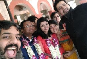 TVF's Arnub with a U is married with an M! See pics