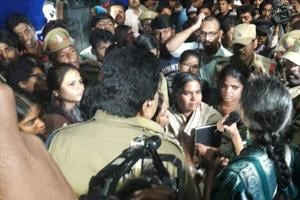 Hyderabad University sees Rohith Vemula Shahadath Din with protests,...