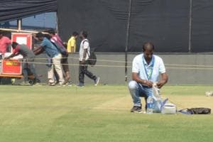 Preparations are in full-swing for the India-England 2nd ODIat the Barabati Stadium in Cuttack.