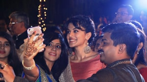 Taapsee Pannu gate crashes a sangeet ceremony to promote...