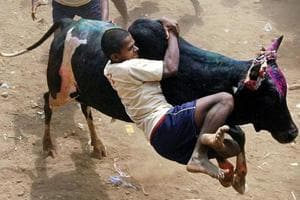 Jallikattu ban: 200 held in Madurai as protests continue across Tamil...