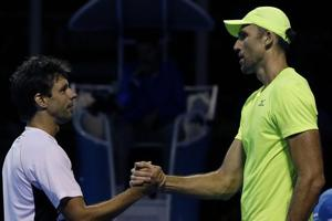 Ivo Karlovic's 75 aces the highlight in five hour marathon at...