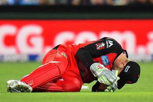 Phil Nevill unlikely for Big Bash League after bursting cheek blood...