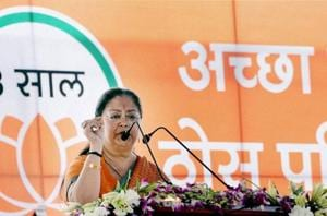 Here to develop Rajasthan, not to rule: Vasundhara Raje presents...