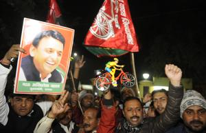 Uttar Pradesh election: Akhilesh reaches out to Mulayam after bagging...