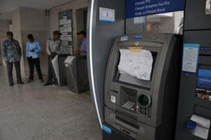 Gurgaon: Banks supplied more cash but most ATMs still empty