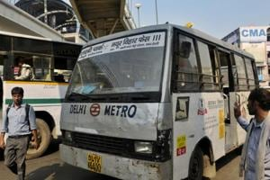 Delhi govt fixes routes of Metro feeder buses to improve last-mile...