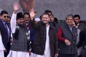 Rahul links 'hand' with god figures: BJP asks EC to freeze Congress...