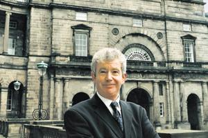 Prof Sir Timothy O'Shea, principal and vice chancellor of the university, is currently researching massive open online courses or MOOCs.