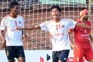 I-League: East Bengal FC register comfortable win against Churchill...