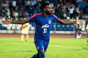 I-League: CK Vineeth hat-trick powers Bengaluru FC to 3-0 win over...