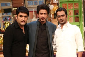 Raees on Kapil Sharma Show: See pics of Shah Rukh Khan, Nawazuddin