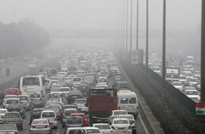 Jams a daily affair on busy stretch of Delhi-Gurgaon Expressway