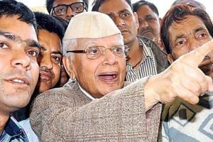 Congress veteran ND Tiwari to join BJP today ahead of Uttarakhand...