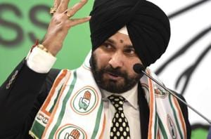 Congress leader Navjot Singh Sidhu on Wednesday filed his nomination...