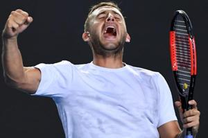 Australian Open: Dan Evans stuns seventh seed Marin Cilic to advance...