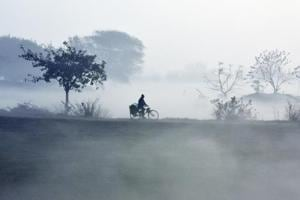 Delhi ki sardi: Foggy scenes a delight, but not the freezing cold