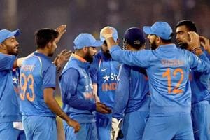 India beat England by 15 runs in Cuttack's Barabati Stadium on Thursday to win the three-match series 2-0.