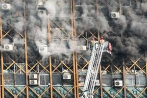 More than 20 firefighters dead in Tehran high-rise collapse: Mayor