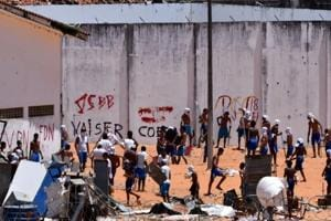 After gruesome gangwars, Brazil authorities move inmates out of...