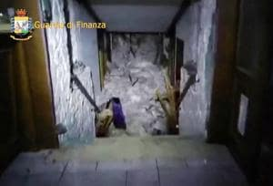 Trapped in the snow: 9 chilling photos of Italy avalanche that buried...