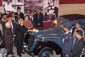 Car that aided Netaji's 'great escape' unveiled after restoration