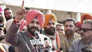 Navjot Singh Sidhu got poetic during a Press Conference today. He...