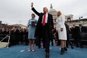 'The work begins': Donald Trump becomes 45th President of the US