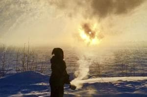'I hate everybody who lives in a warm place': In Alaska, minus 59...