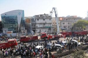 How 20 brave firefighters helped rescue 250 workers trapped in Noida...