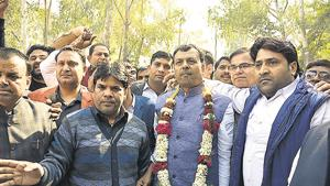 Three sitting MLAs file nominations in Ghaziabad