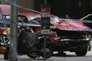 Three killed, 20 hurt after car strikes pedestrians in Melbourne