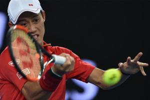 Kei Nishikori breezes past Lukas Lacko to advance to Australian Open...