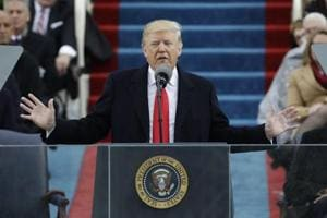 Donald Trump, sworn in as US President, promises to put 'America...