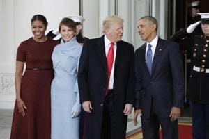 Donald Trump, Melania meet Barack Obama, Michelle ahead of oath-taking...