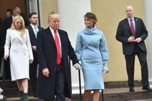 Melania Trump evokes Jackie Kennedy, Ivanka in white for Donald Trump...