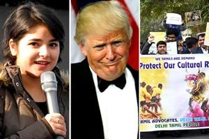 Jallikattu protests, Zaira's apology and Trump's swearing in: The week...
