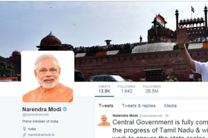As Obama exits White House, PM Narendra Modi now the most followed...