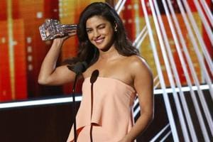 People's Choice Award winner Priyanka Chopra has a message for...